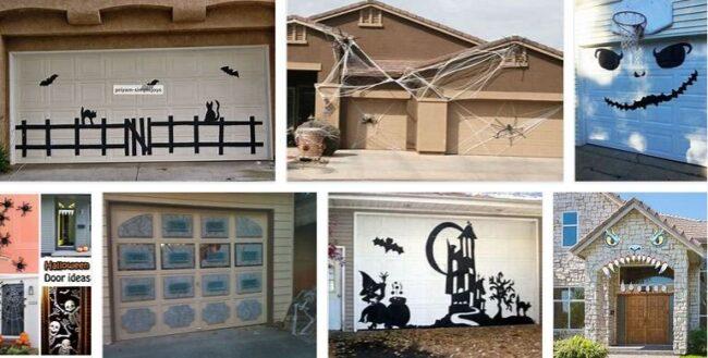 Garage Door Halloween Decorations Diy Ideas 2021 Best Furniture Brands