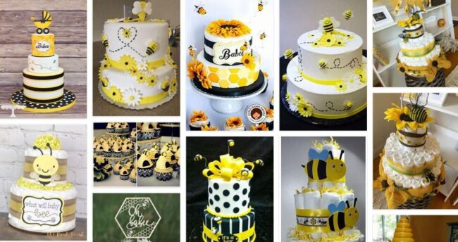 Bee Decorations For Baby Shower Cake Home 2021 Kitchen Decorations