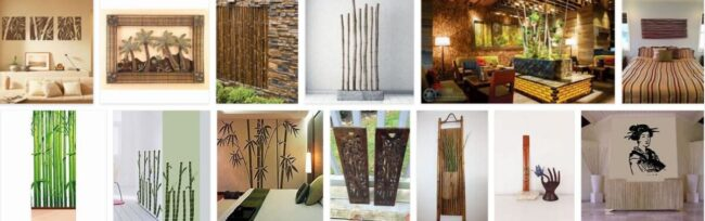 Bamboo Wall Decorations 2021 General Use Furniture