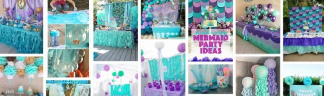 Mermaid Party Decorations Ideas Diy 2021 General Use Furniture