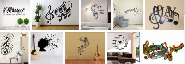 Music Notes For Wall Decorations 2021 Best Furniture Brands
