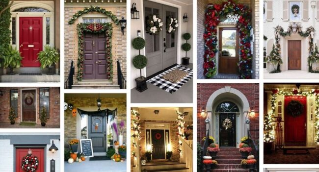 Outside door House Decorations 2021 General Use Furniture