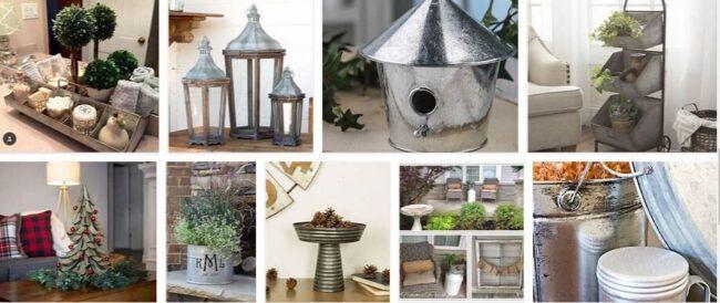 Galvanized Decorations 2021 Best Furniture Brands