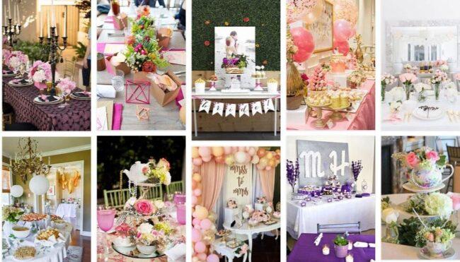 Bridal Shower Decorations 2021 General Use Furniture